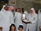الرويلي يدشن يوم التمريض الخليجي الأول  بمستشفى الولادة والأطفال بالأحساء .