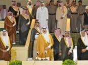 الامير محمد بن فهد يرعى حفل تخريج الدفعة / 31 / من طلبة جامعة الملك فيصل  والبالغ عددهم ( 1153 ) طالبا و ( 3214 ) طالبة  .