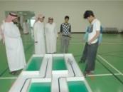ثلاث  مركز لتعليم الأحساء في مسابقة الروبوت  الثالثة ( سعودي روبو 3  ) .
