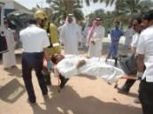 إخلاء وإنقاذ 400 طالب و 36 معلم من حريق شب في مختبر متوسطة خالد بن الوليد في دقيقة ونصف .