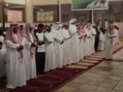 إقامة صلاة الاستسقاء بمدرسة عمر بن عبد العزيز