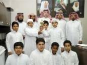 مدرسة البحتري الابتدائية تكرم الفصل الفائز بمسابقة الإذاعة المدرسية