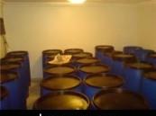في شقة بالخبر : الهيئة تلقي القبض على أربعة أسيويين يديرون مصنع للخمور وترويجها.