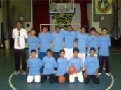 مدرسة عمار بن ياسر تفوز في كرة السلة .