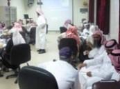 «تحسين العمل» ورشة عمل بمستشفى العيون
