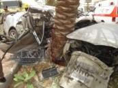 عاجــــــــل : حادث مروري مروع يودي بحياة أربعينية بشارع الظهران ظهر اليوم .. والسبب السرعة الزائدة ( مرفق صور ) .