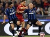 الإنتر ميلان بطلا لكأس إيطاليا بعد تغلبه على روما .