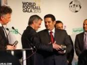 توج رسمياً في إحتفالية كبيرة في لندن … الهلال السعودي نادي القرن في آسيا