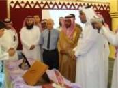 ال زرعة يفتتح معرض رمز العطاء بمدرسة مكة 77