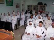 تفعيل اليوم العالمي للتمريض بمستشفى الجفر