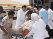 طوارئ مستشفى الإمام عبد الرحمن آل فيصل يستقبل سبعة مصابين في هجمات إرهابية