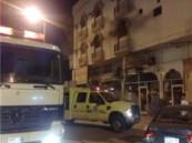 إصابة طفل باختناق بسيط : الدفاع المدني بالأحساء يسيطر على حريق شقة المبرز  .