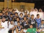 تقنية الأحساء تحقق بطولة جامعة الملك فيصل لكرة القدم