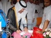 رجل الأعمال باسم الغدير يفتتح المعرض التوعوي التثقيفي للتبرع بالأعضاء بمجمع العثيم  .