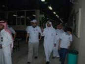 رئيس مجلس التدريب التقني والمهني بالمنطقة الشرقية يقوم بزيارة تفقدية لكلية التقنية بالأحساء .