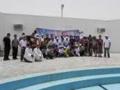 (الأحساء نيوز ) الراعي الإلكتروني … 125 طالب من تقني واعد يطفئون حر الصيف بالسباحة مع عروض مسرحية فكاهية .