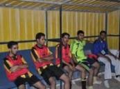 شباب النعاثل يعمق جراح فريق الانوار في دورة حسانا فله على ملعب العميد .