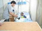 ضمن حملة مبارك عليك الشهر :مستشفى الجامعي و الظهران يستقبلان شباب و فتيات نادي الخبر التطوعي .