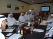 من اجل تفعيل الشراكة الإستراتيجية بين الجانبين  : اجتماع تنسيقي  بين غرفة الاحساء وجامعة الملك فيصل  .