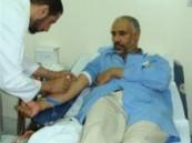 حمله للتبرع بالدم بالمعهد المهني
