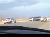 قطري من «الحرس الأميري» بطل «مطاردة الشاحنة» على طريق خريص