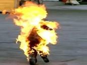 """بسبب """"خروج نهائي"""".. مقيم باكستاني بالخرج يشعل النار في نفسه"""