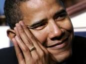 لا إله إلا الله منقوشة على خاتم أوباما