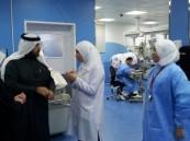 لجنه تقييم معايير بوابة التغيير في زيارة لتمريض الأحساء .