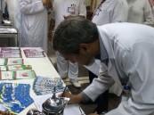 """مستشفى """"بن جلوي"""" يحتفل بمناسبة اليوم العالمي لمكافحة الدرن لعام ٢٠١٤م"""
