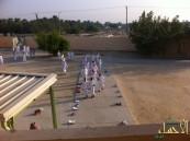 """السعودية الثانوية تنفذ برنامج """" المشي من أجل الصحة """""""