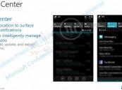 صور مسربة تكشف مركز الإشعارات في ويندوز فون 8.1 القادم