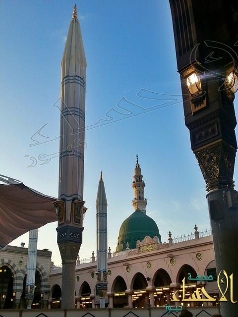 عدسة «الأحساء نيوز» ترصد أجمل اللقطات من المسجد النبوي