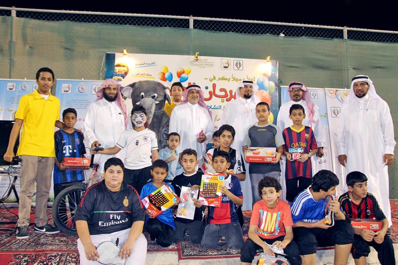 """بالصور.. أكثر من ٢٠٠ طفل وشاب يشاركون في """"مهرجان العيد"""" السابع بمحاسن"""