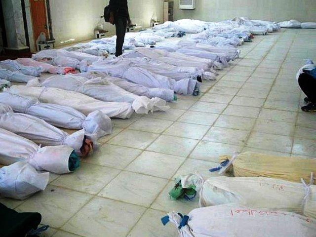 في السعودية… العثور على 38 جثة محشورة بين صخرتين