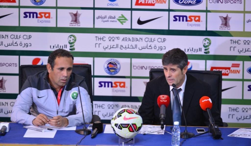 مدرب المنتخب السعودي يؤكد رضاه التام لآداء اللاعبين