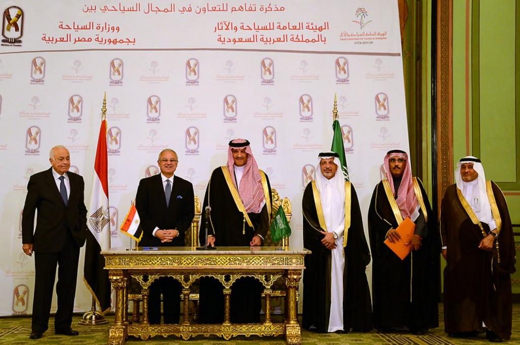 توقيع مذكرة تفاهم بين المملكة ومصر في مجال السياحة