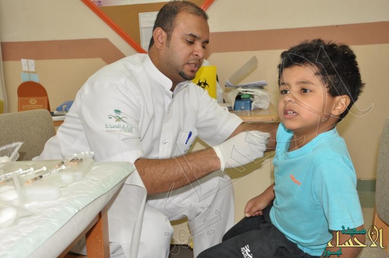 حملة تطعيم لطلاب الصف الأول و الثاني للعام الدراسي الحالي 1436/1435 هـ