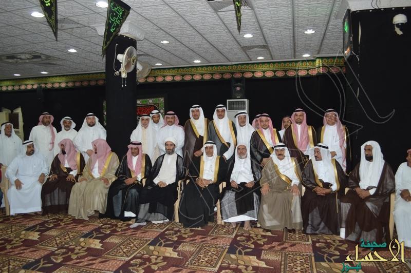 بالصور … وفد من أمارة الرياض يصل إلى الدالوة لتقديم واجب العزاء