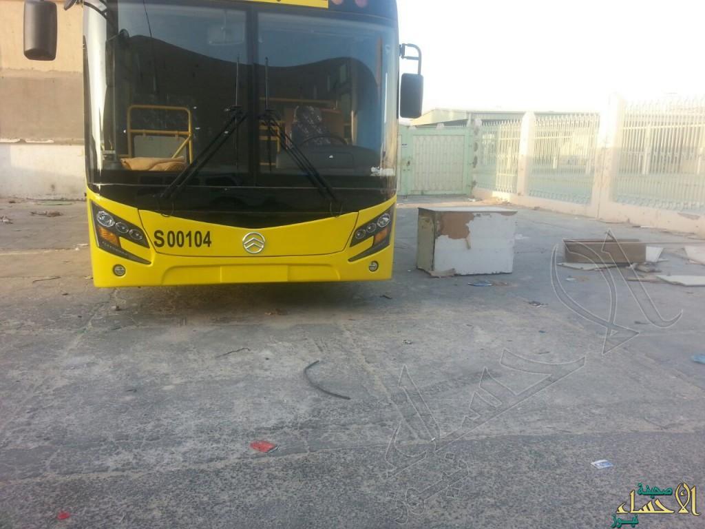 """مواطنون لـ""""الأحساء نيوز"""": أين لوحات الحافلات…هل سقطت سهوًا؟"""