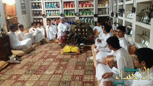 مدرسة عبدالله بن سلام في ضيافة معرض التراث