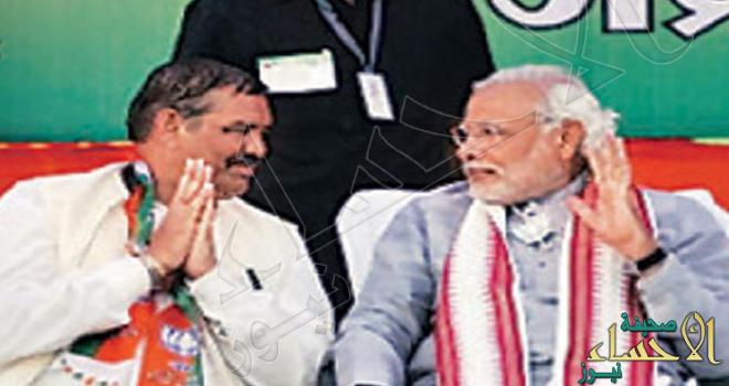 """من """"سباك"""" في المملكة إلى """"وزير"""" في الهند"""