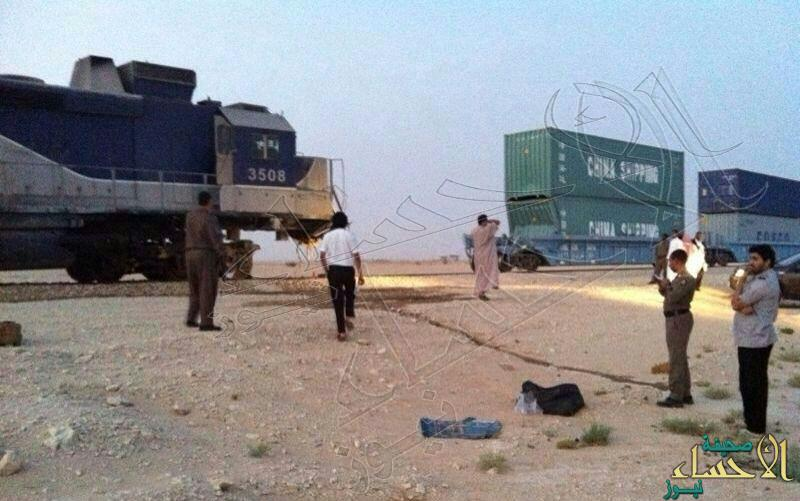 """في الأحساء… جنوح عربات قطار """"119"""" عن السكة"""