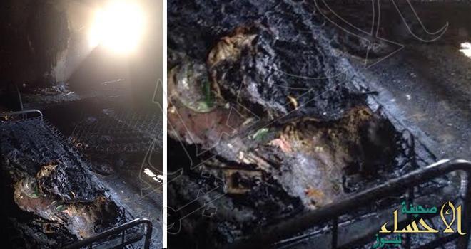 مصرع شخص وإصابة ( 8 ) في حريق بمبنى بالخبر