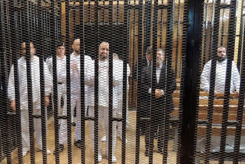 تأجيل محاكمة مرسي و35 آخرين إلى 18 نوفمبر الجاري