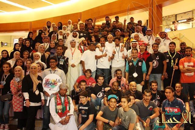 """بالصور… """"فنار"""" يشارك في أكبر تجمع للفرق التطوعية خليجياُ بـ""""الكويت"""""""