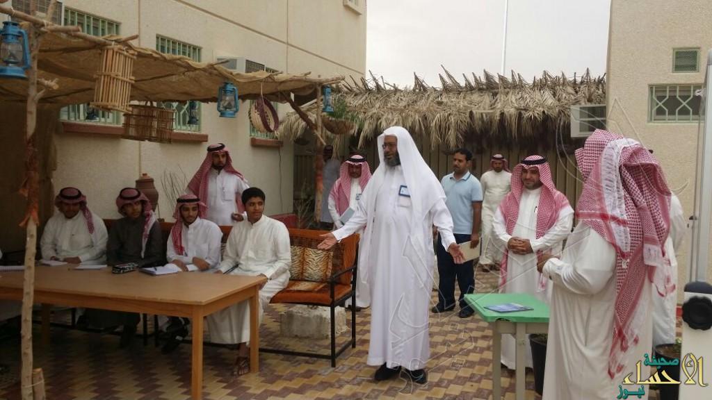 زيارة مدير عام التربية و التعليم لمدرسة الإمام جعفر الصادق