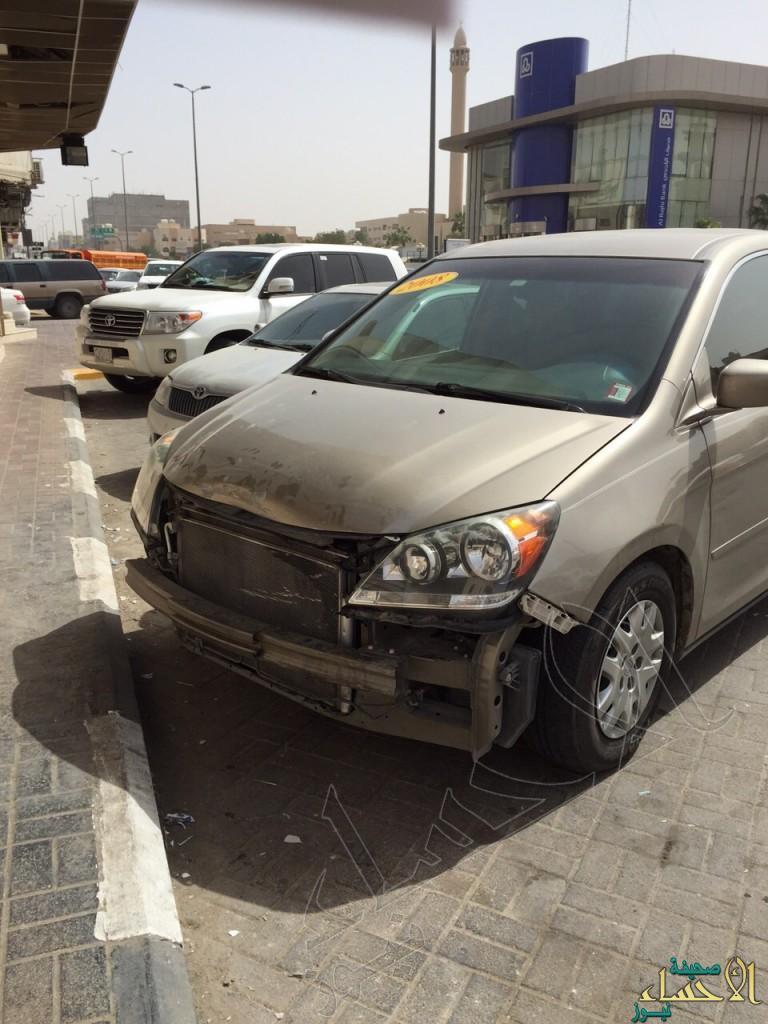 """بالصور… مخالفات لـ""""ساهر"""" بـ20 ألف ريال تضبط وافد سرق سيارة من الأحساء"""