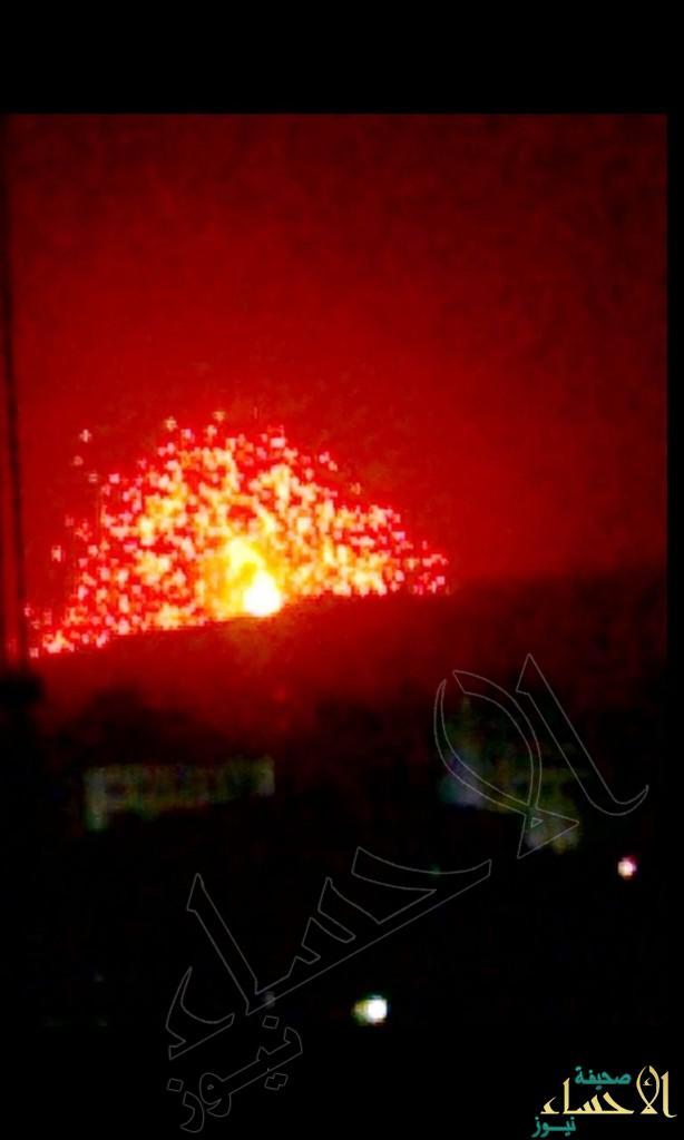 """حصرياً من اليمن… شاهد بالصور """"دقة وشدة"""" ضربات """"عاصفة الحزم"""""""