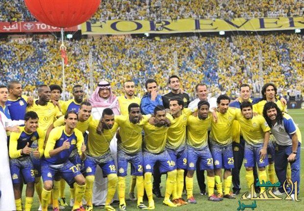 النصر يصل الدوحة لملاقاة لخويا القطري بدوري أبطال آسيا