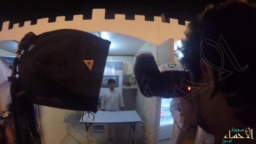 """بالفيديو والصور … استوديو """"الأحساء نيوز"""" يجتذب زوار """"كلنا منتجون6″"""